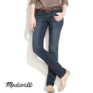 Madewell Women's Blue Straight Leg Jeans